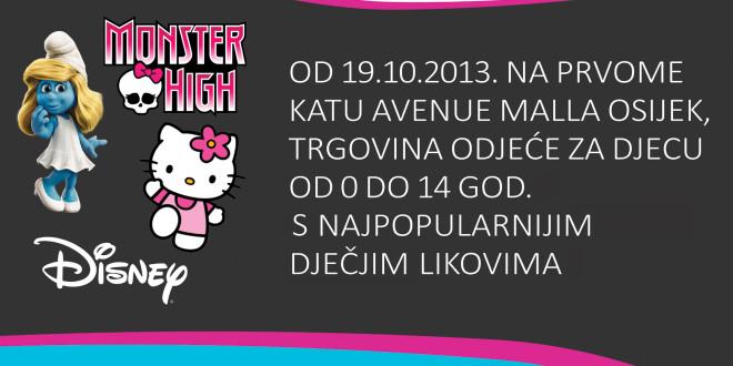 Otvorenje trgovine Baby Boom u Avenue Mallu Osijek