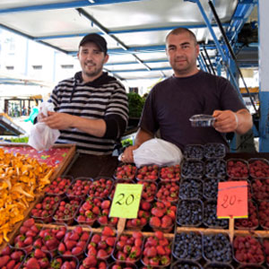 Kako pronaći pravu organsku hranu na tržnici?