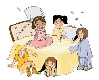 Organizirajte pidžama party!