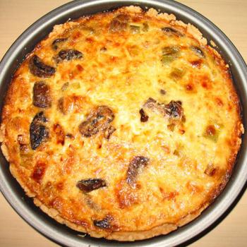 Povrtna pita s kobasicom