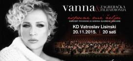 Vanna dolazi u Lisinski