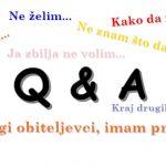 Vrijeme je za… Q & A !