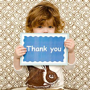 zahvala za rođendan Naučite djecu osnovama lijepog ponašanja!   Obitelj.HR zahvala za rođendan