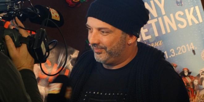 Tony Cetinski na najvećem karnevalskom spektaklu u Lisinskom