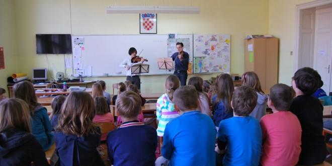 Zagrebačka filharmonija održala glazbenu radionicu za djecu