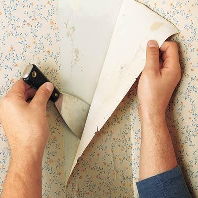 Kako skinuti tapete sa zidova
