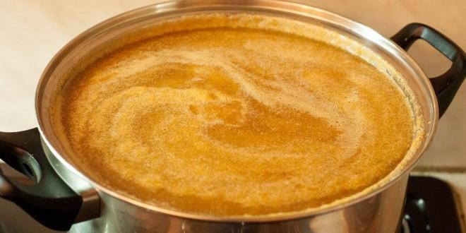 Gusti sok od nektarine i jabuke